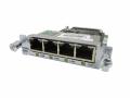 【中古】Cisco Gigabit EtherSwitch 4ポートギガビット 10/100/1000BASE-TX EHWICインターフェイス カード(EHWIC-4ESG )
