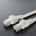CBC5E ライトグレーLANケーブル
