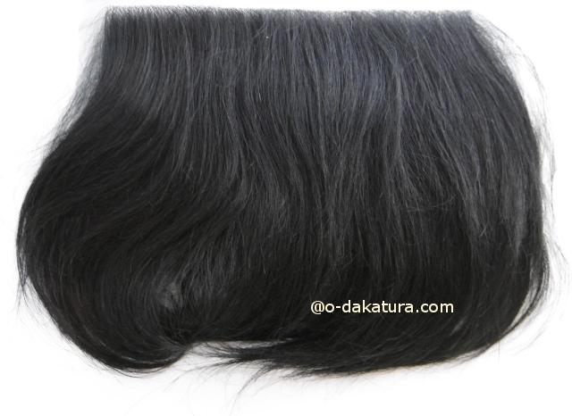 円形脱毛・植毛に最適極薄ヘアシート人毛100%