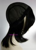 お客様の髪で作った付け毛キャップ側面