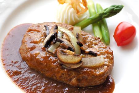 米沢牛入りデミグラスハンバーグ【冷凍】湯せん調理 単品