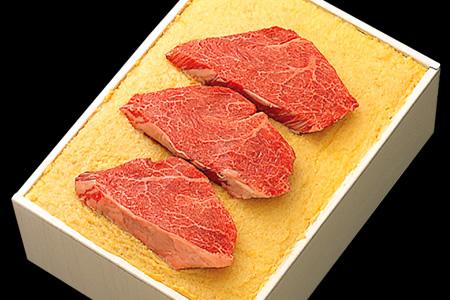 米沢牛「米糀」味噌漬 3枚切 210g (K-30)冷蔵 木箱入