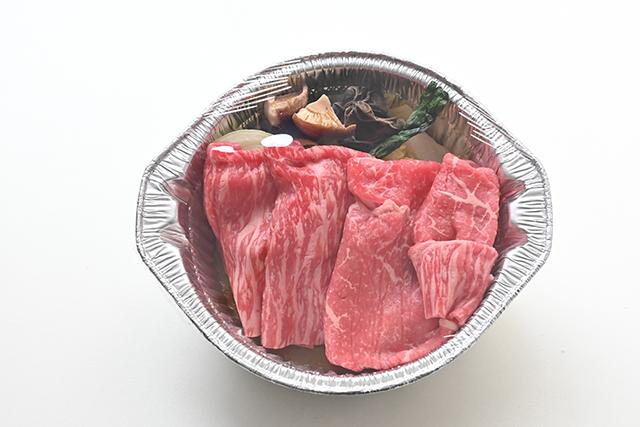米沢牛すき焼き鍋(赤身・1人前)冷凍