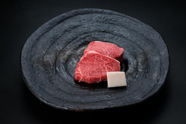 米沢牛ランプステーキ(冷蔵) トレー盛り