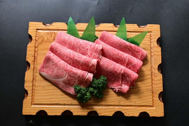 米沢牛しゃぶしゃぶ詰合せ(サーロイン・モモ)冷蔵 化粧箱入 送料無料