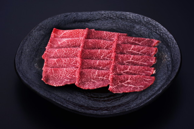 米沢牛モモしゃぶしゃぶ(冷蔵) トレー盛り