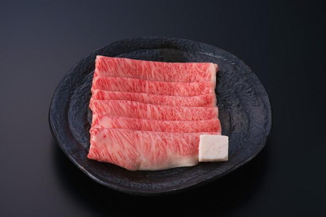 米沢牛特選ロースすき焼用 300g(タレ付)冷蔵)化粧箱入
