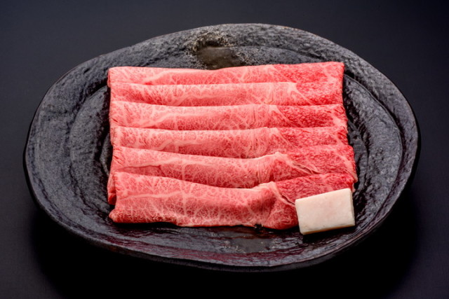 悠修牛肩すき焼き(冷蔵) トレー盛り