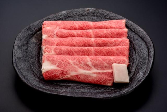 悠修牛肩ロースすき焼き用 500g(タレ付) 木箱入 送料無料