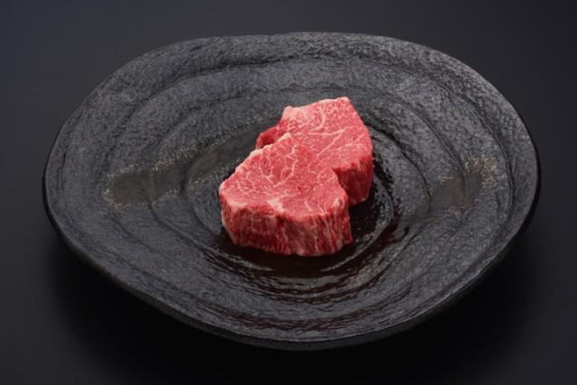 悠修牛ランプステーキ(冷蔵) トレー盛り