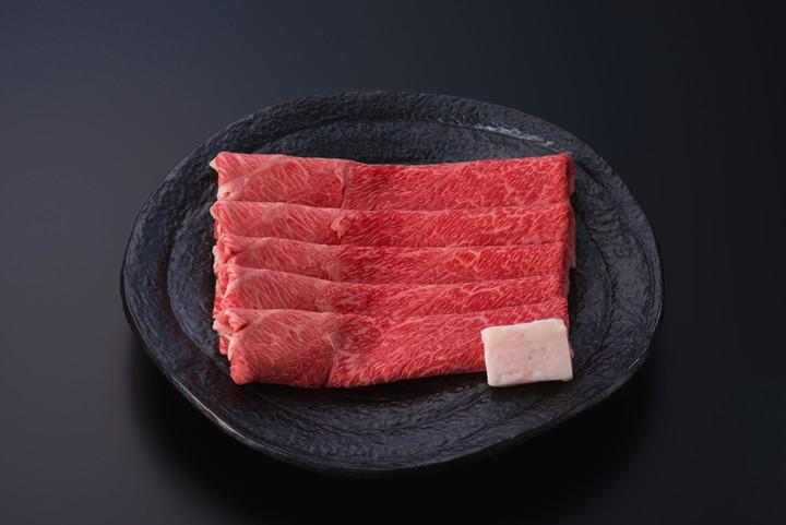 米沢牛赤身すき焼き用 500g(タレ付) 冷蔵)化粧箱入