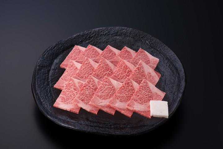 米沢牛ロース焼肉用 400g 送料無料(冷蔵) 化粧箱入