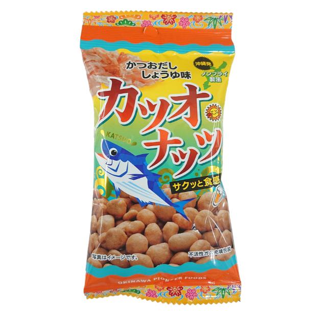 カツオナッツ(かつおだし しょうゆ味) 40g