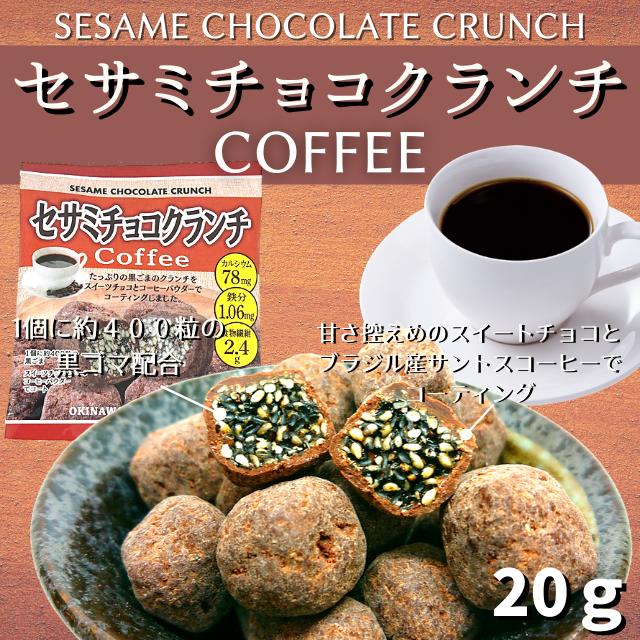 セサミチョコクランチ Coffee 20g