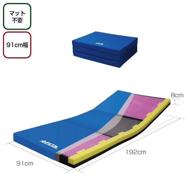 床ずれ防止マット ピタ・マットレス三つ折ケアタイプ 91cm幅