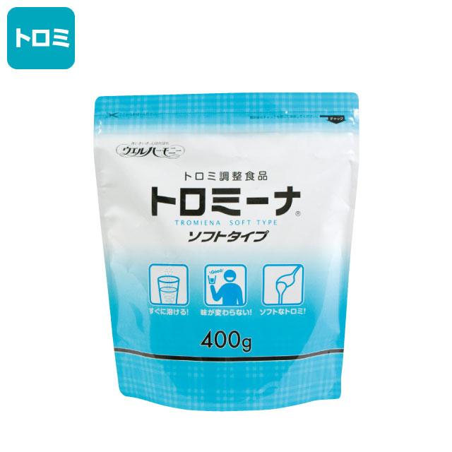 介護食【嚥下補助】 トロミーナ ソフトタイプ 400g
