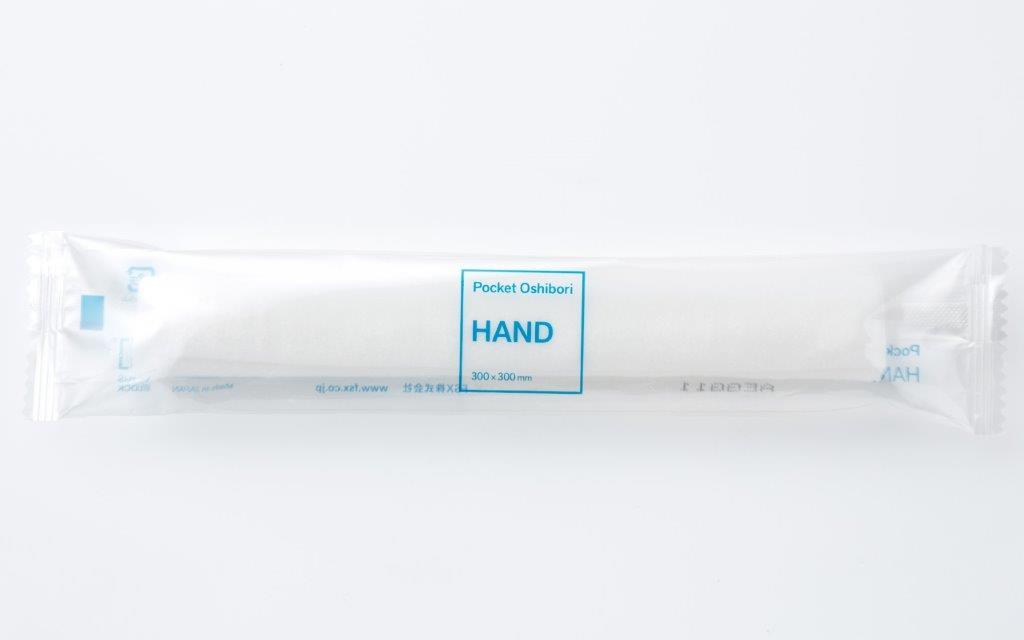 ポケットおしぼり「HAND&BODY」HAND600本入