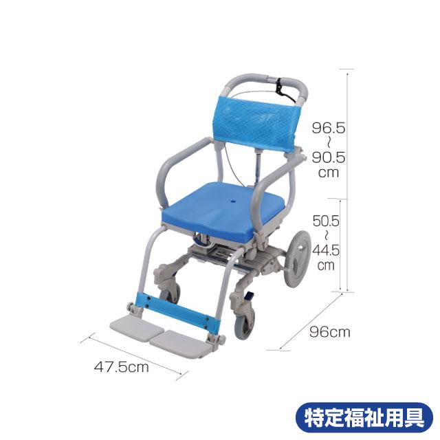 風呂用車椅子 楽チル 穴無しシート RT-003