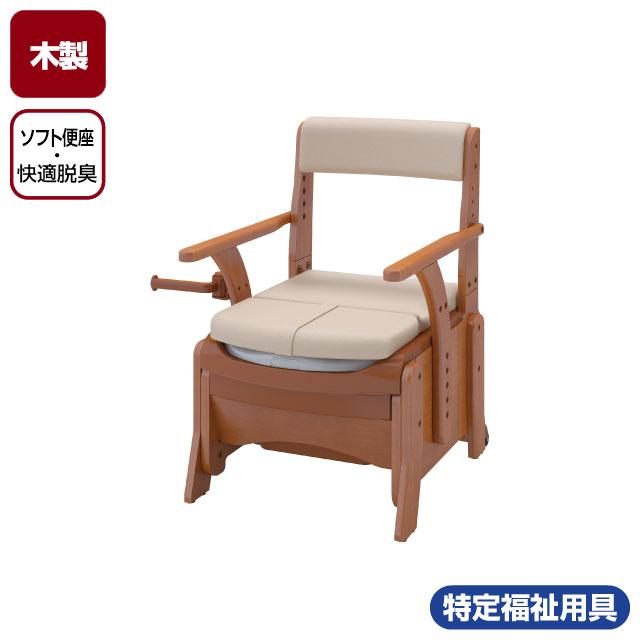 家具調トイレセレクトR コンパクト ソフト便座・快適脱臭 533-884