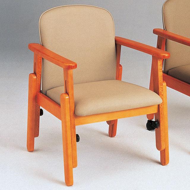 座・コンピス ビニール布張(キャスター無し) AL103F【介護用品:福祉用椅子】