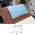 介護ベッド用枕カバー MR-2008【介護用品:まくらカバー】