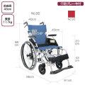 自走式車椅子 BML-22-40SB