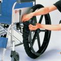 車いす車輪カバー 2本1組【介護用品:車いす用車輪カバー】