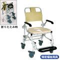 シャワーキャリーLX-2 5022【介護用品:風呂用車椅子】