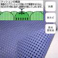 エコスーパーバイオマット(非塩ビタイプ) 1m×1m【介護用品:風呂マット】