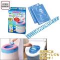 非常用トイレ 除菌セルレット ポータブルトイレ用 20回分(処理用袋付)