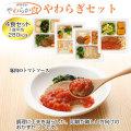 介護食【軟菜食品】 やわらか食おかずセット やわらぎセット(4食)