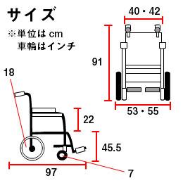 KA818L-40(42)B-HSサイズ