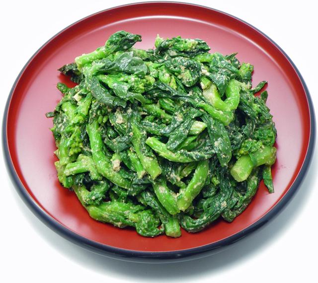 菜の花ごま和え(1kg、冷凍)
