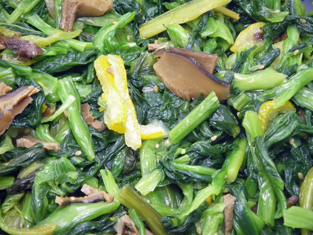 青菜ゆず風味(500g、冷凍)