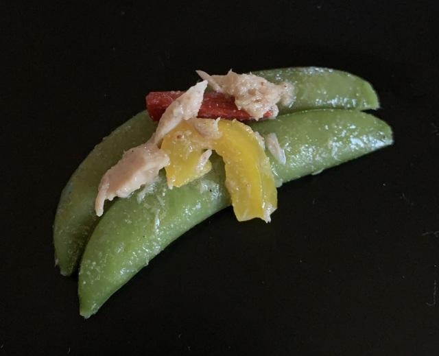 彩りスナップエンドウ(500g、冷凍)