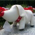 かわいい仔犬がモチーフ T−DOGロールペーパーホルダー