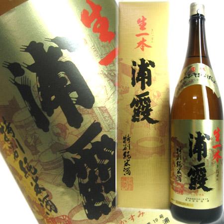 浦霞特別純米酒生一本