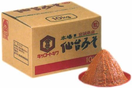 本場仙台味噌10k