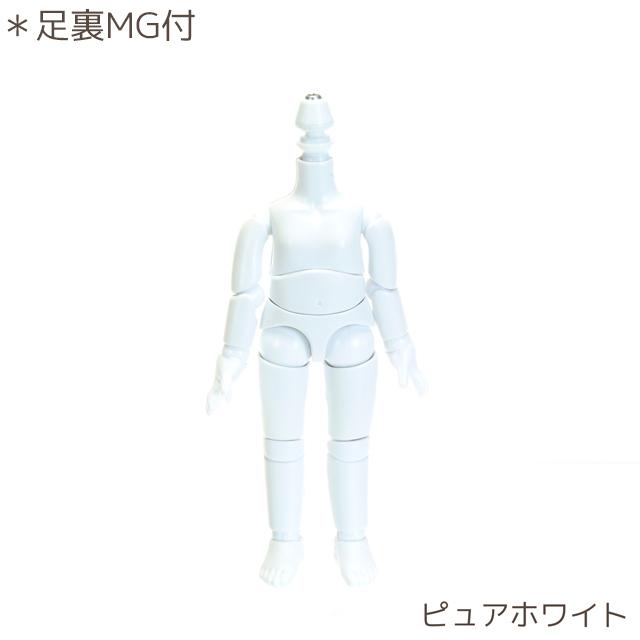 【11BD-D01PW-G】11cmオビツボディ ピュアホワイト マグネット付き