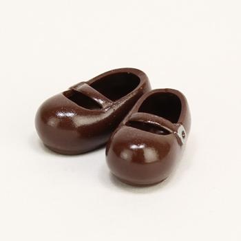 【11SH-F002T-G】11cmおでこ靴 マグネット付き 茶