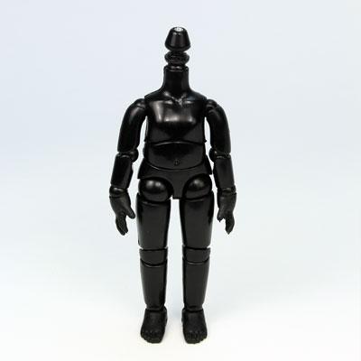 【11BD-D01B-G】11cmオビツボディ ブラック マグネット付き