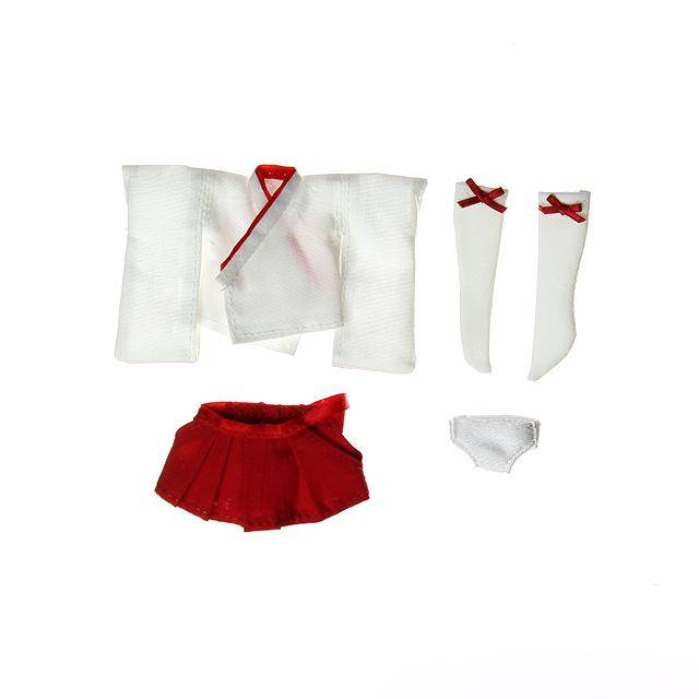 オビツ11用 チビカグヤのミニ巫女服セット