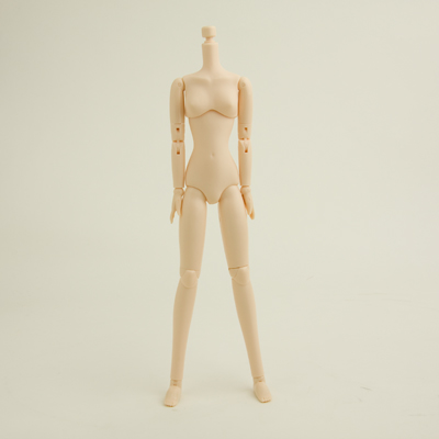 【23BD-F03W】23cmオビツボディ SBH 女の子 バストサイズM ホワイティ
