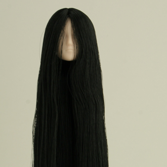 【27HD-F02WC01】植毛ヘッド02 ホワイティ