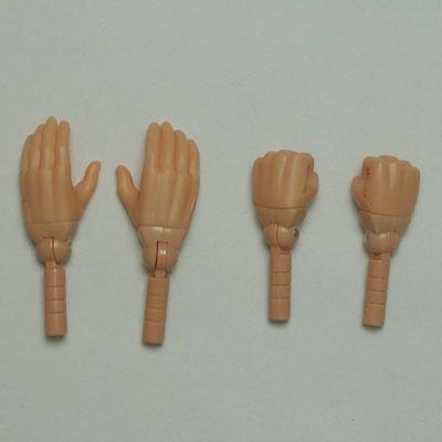 【27RP-M02R-25】リアル 開き手・握り手セット リアルナチュラル