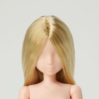 【SOHD-C】セミオーダー植毛ヘッド センター分け