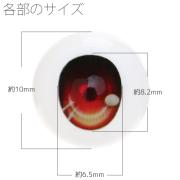 【EYOB-G10】尾櫃瞳(オビツアイ) Gタイプ 10mm