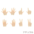 【22AC-FP01】OBITSU22 用 ハンドパーツセットA