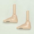 【27RP-F01W-26】27cm女性 足(左右)マグネット付き ホワイティ