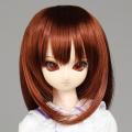 【50WG-S02】 オビツウィッグ 『新セミロング』 7〜8inch